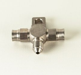 vapor - racing AN Stainless Steel Tee Piece fitting 2